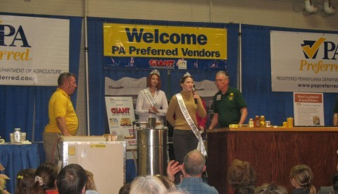 2011 Honey Princess at PA State Farm Show