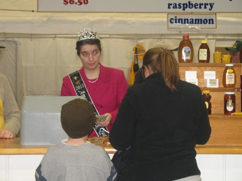 Honey Queen at PA State Farm Show
